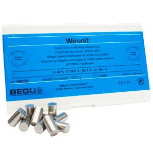 Wironit классический сплав на основе кобальта для бюгельных протезов с кламмерами